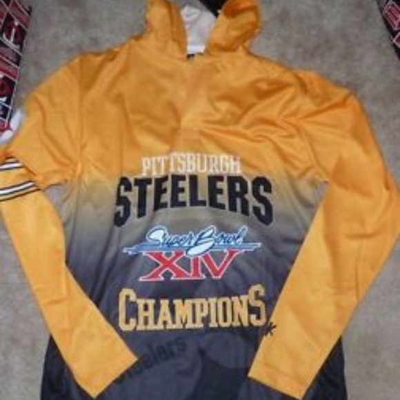 f2069ba99 NFL Pittsburgh Steelers Super Bowl Hoodie NEW